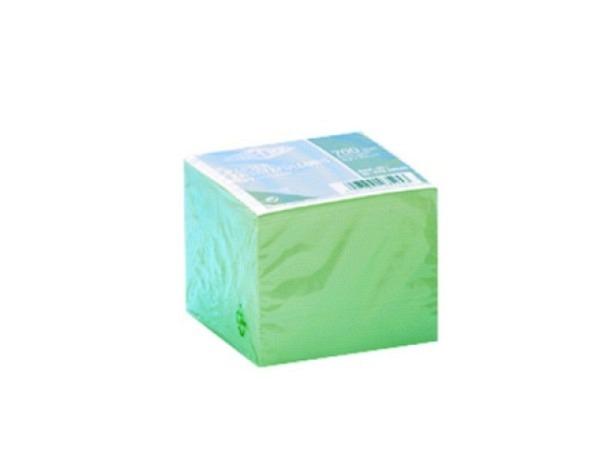 Notizpapier Wedo 99x99mm weiss 700Blatt, lose Blätter als Refill für Zettelkasten 100x100mm