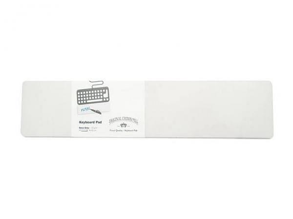 Block Original Crown Mill Keyboard Pad grau 9x42cm 40Blatt