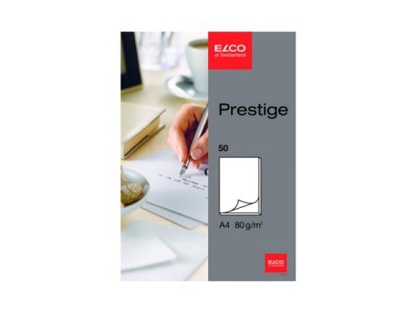 Block Elco Prestige A4 blanko weiss 80g/qm