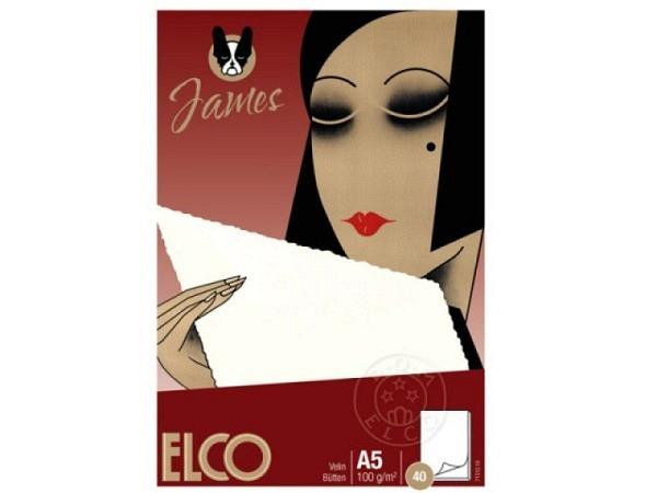 Block Elco Velin A5 weiss 100g/qm