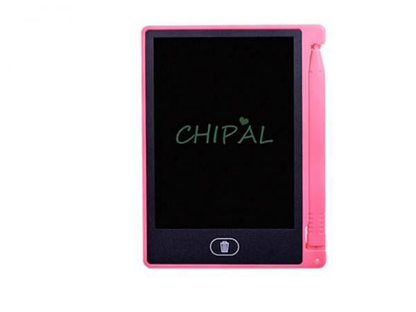 Zaubertafel LCD 8,8x11,8cm rosa