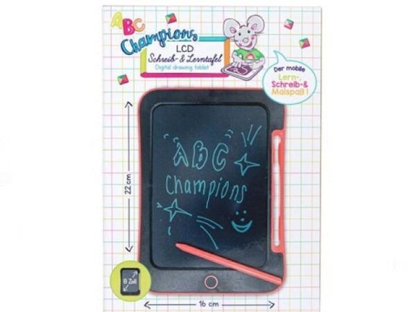 Zaubertafel LCD 14,5x22,3cm weis