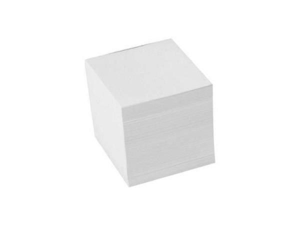 Notizblock Büroline Zettelbox Papier 98x98mm 376458 weiss, 80g/qm, 700 Blatt