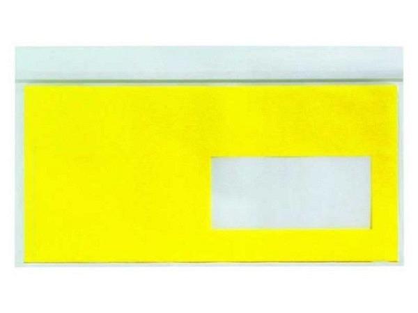 Begleitpapiertasche Elco pac-it Quick C6/5 Fenster rech gelb