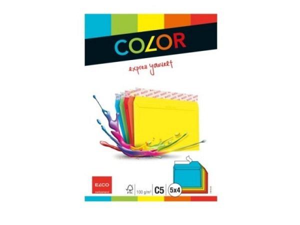 Couvert Elco Color C5 sortiert