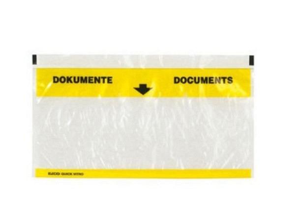 Begleitpapiertasche Elco Dokumententasche pac-it Quick Vitro C5/6