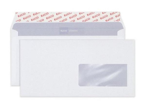 Couverts Elco Optifix C6/5 weiss mit Fenster rechts 100g