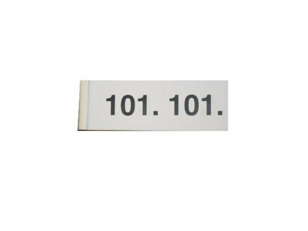 Garderobenblock 101-200 weiss