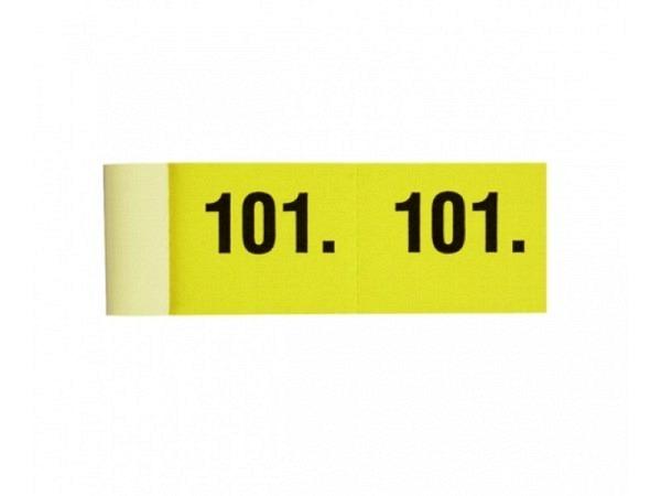 Garderobenblock 101-200 gelb