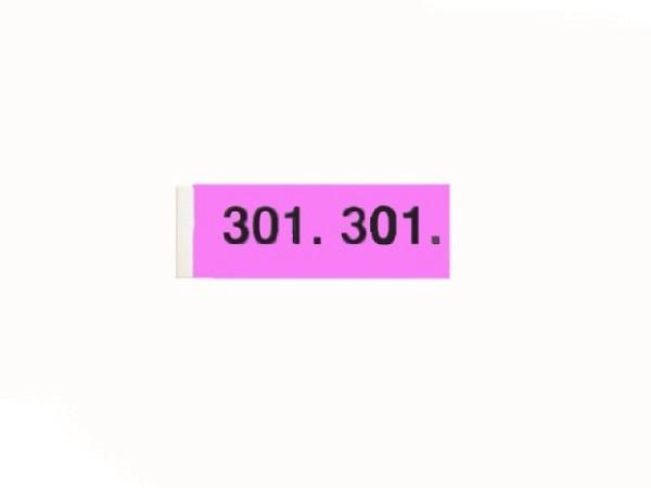 Garderobenblock 301-400 lila