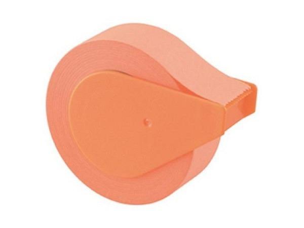 Haftnotizen Yamato Memoc Roll tape pastel 15mmx10m orange