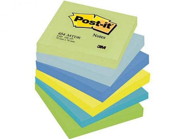 Haftnotizen Post-it Dream 76x76mm 6 Block à 100 Blatt