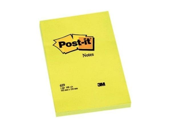 Haftnotizen Post-it 102x152mm gelb