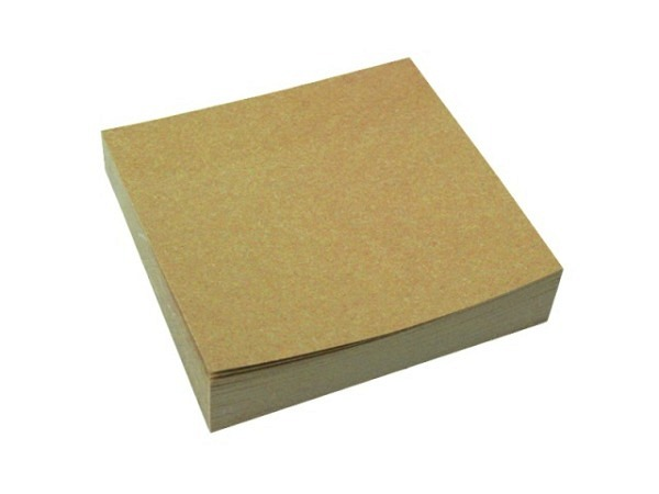 Haftnotizen Kores 50x75mm transparent gelb, 50 Blatt