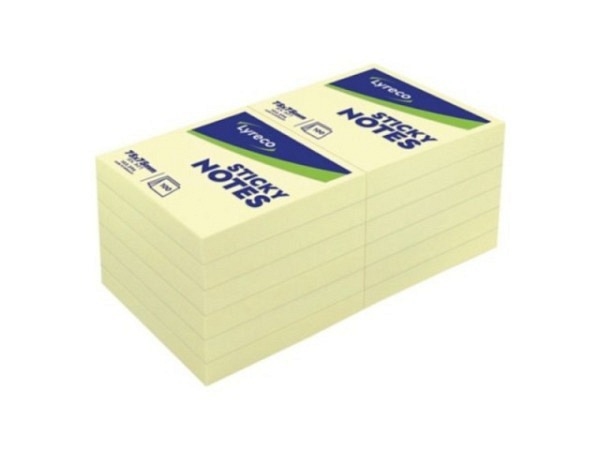 Haftnotizen Cedon Sticky Notes Set blau 18,5x13x7cm