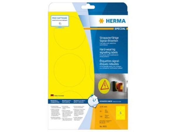 Etiketten Herma Adressetiketten A4, permanent, 32x70mm weiss