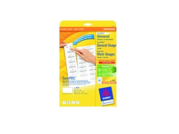 Etiketten Zweckform 105x148mm, weiss, Originalnur 6120 A4