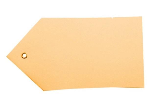 Anhängeetiketten Karton braun 80x150mm 100Stk.