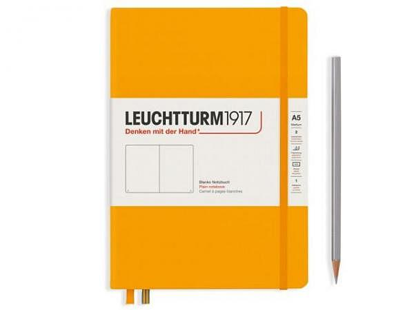 Notizbuch Leuchtturm Bullet Journal medium punktkariert Nordic Blue
