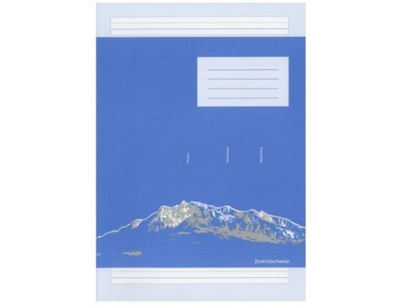 Heft Ingold Biwa Basisline A4 3-Gassen-Schreibliniensystem 6mm