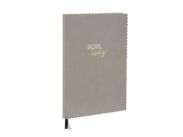 Notizbuch Semikolon interno feinkariert red A4