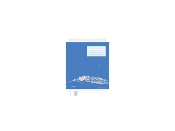 Heft Ingold Biwa A4 Basisline 3 Gassen-Schreibliniensystem