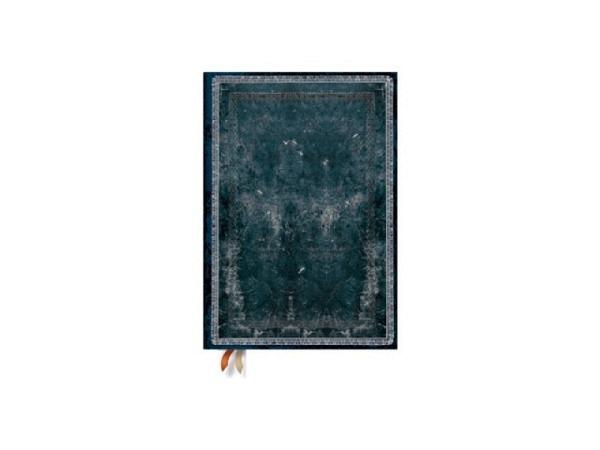 Notizbuch Paperblanks Faux-Leder Mitternachtsstahl, liniert