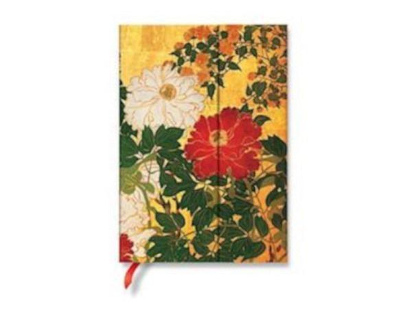 Notizbuch Paperblanks Flexis Schwarzes Marokkoleder Mini 9,5x14cm, l..