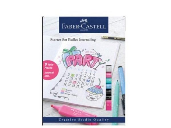 Notizheft Faber-Castell Bullet Journal mit 40 Seiten. Starter Set