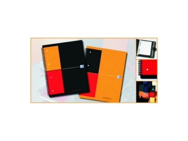 Heft Oxford Notebook A5 mit Spirale 5mm kariert 12Loch