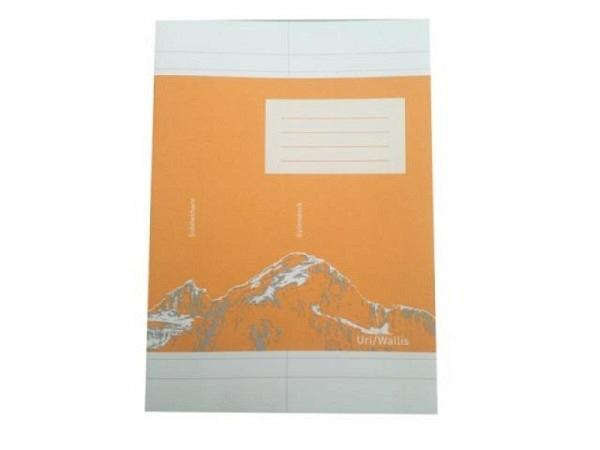 Heft Ingold Biwa Recycling B6 Vocabulaire liniert mit Mittellini