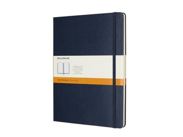 Notizbuch Moleskine Coloured Weiss A6 kariert, 192 Seiten