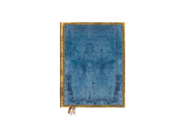 Notizbuch Paperblanks Faux-Leder Rivierablau, Ultra, liniert