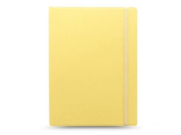 Notizbuch Filofax Notebook Classic Pastels A4 gelb lemon