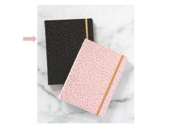 Notizbuch Filofax Notebook A5 Impressions schwarz/weiss A-Z