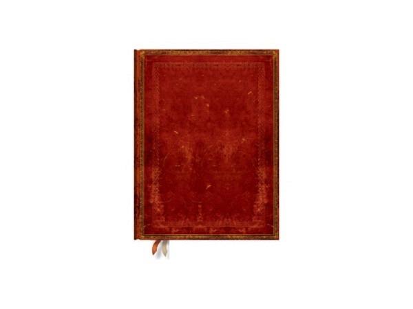 Notizbuch Paperblanks Faux-Leder Venedigrot, Ultra, liniert