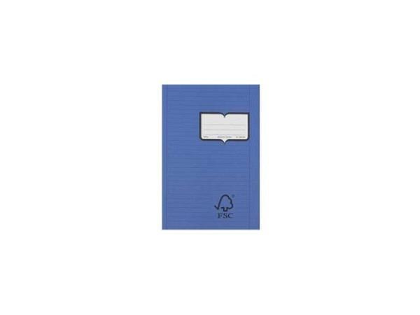 Heft Naturaline Papierumschlag A4 9mm liniert mit Rand