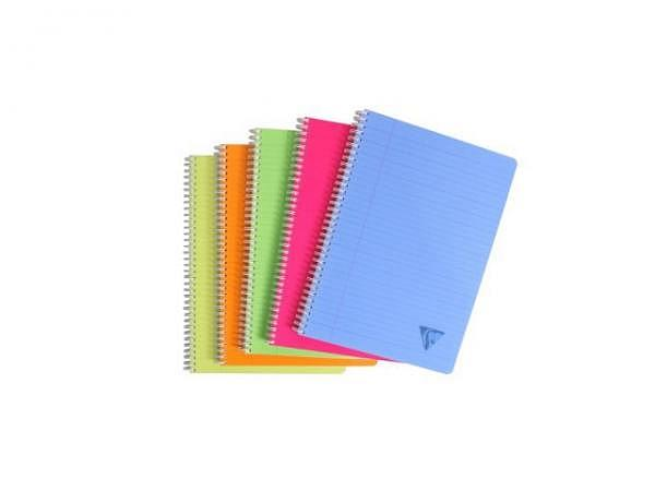 Heft Clairefontaine Linicolor Spirale A4 liniert