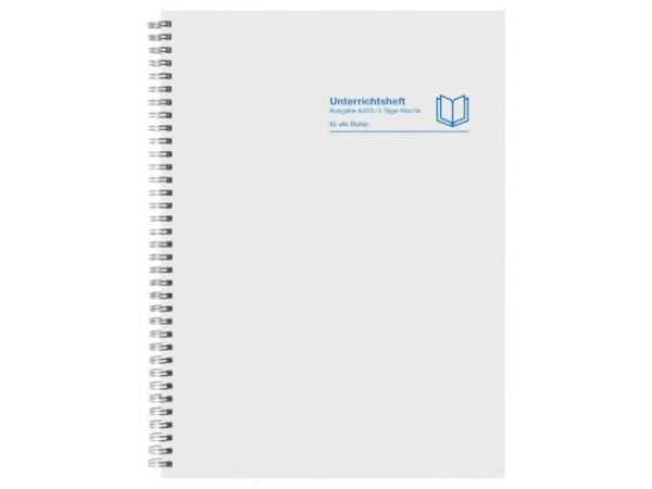 Notizbuch Punch Studio Birds 10x7,5 liniert roter Hintergr.