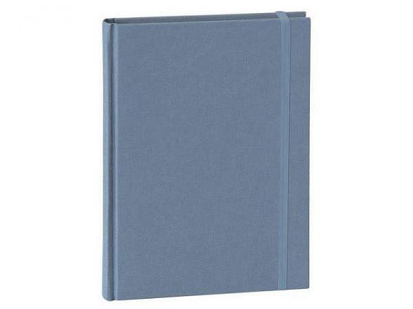 Notizbuch Semikolon Classic A5 punktkariert Leinenbezug Iceland lavablue