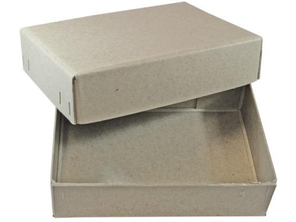 Schachtel Stulp grau A4 T260xB342xH132mm