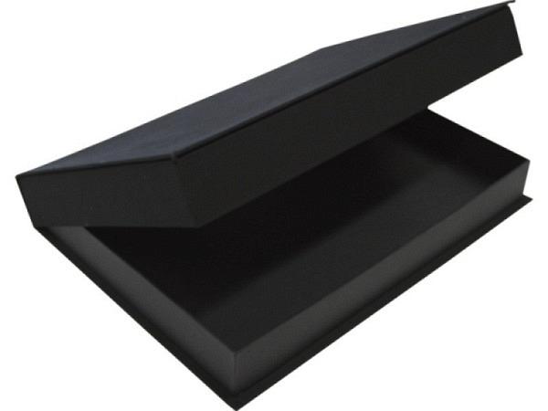 Schachtel Seawhite A4 schwarz 5cm hoch, säurefrei