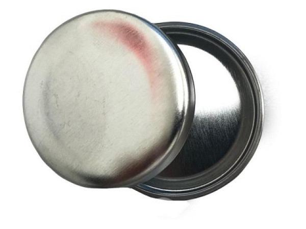 Dose Aluminium rund mit Deckel, Durchmesser 38mm