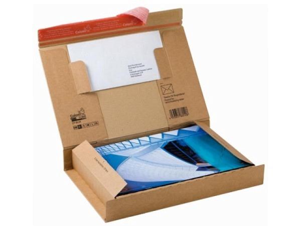 Schachtel Colompack Post Grösse SL braun, BxTxH 343x223x50mm