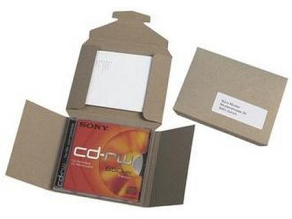 CD Hülle Owo Karton flach geliefert