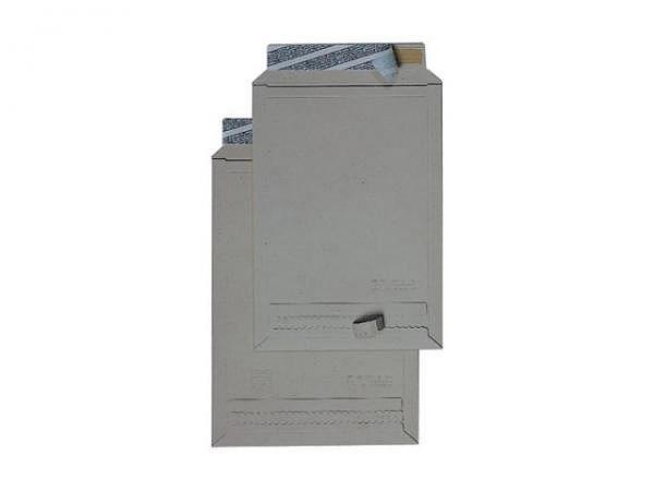 Kartoncouverts Briferm grau C4 22,9x32,4cm Graukarton 400g