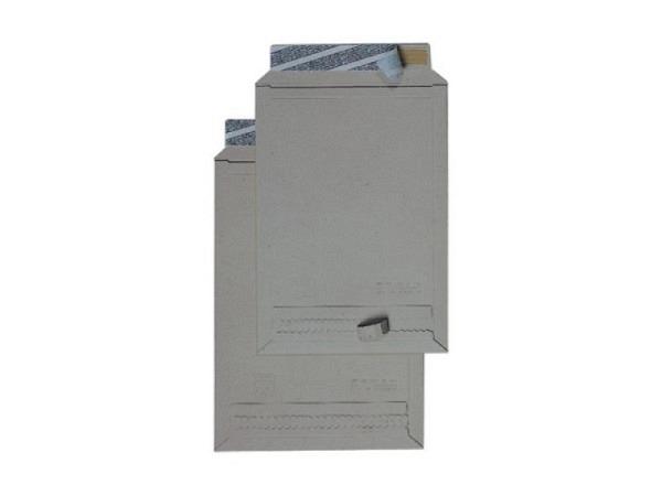 Kartoncouverts Briferm grau B4 25x35cm aus Graukarton 400g