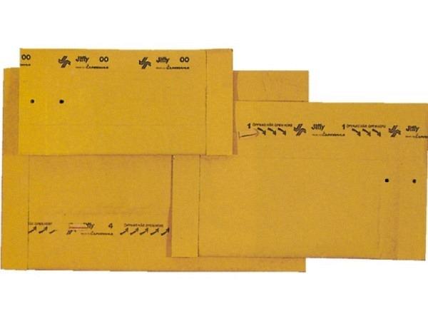Versandtasche Jiffy Gr.0 aussen 15x25cm, innen 14x23cm