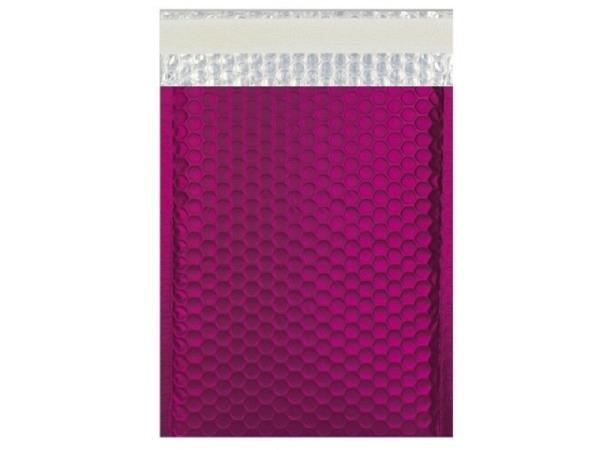 Luftpolstertüte metallisch matt 23x32,4cm dunkles pink