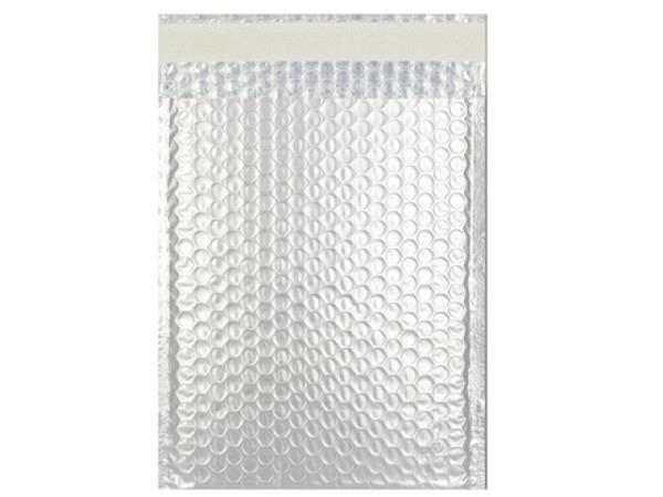 Luftpolstertüte metallisch matt 23x32,4cm silber